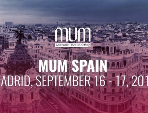 MUM · Mikrotik User Meeting · Madrid 2016