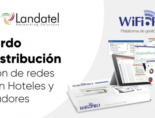 Landatel firma acuerdo de distribución con WiFi.PRO